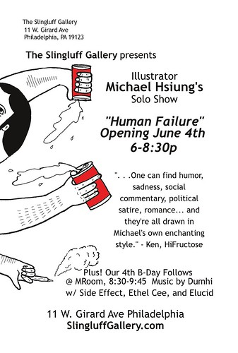 June 4th Slingluff Gallery, Philadelphia by Michael C. Hsiung