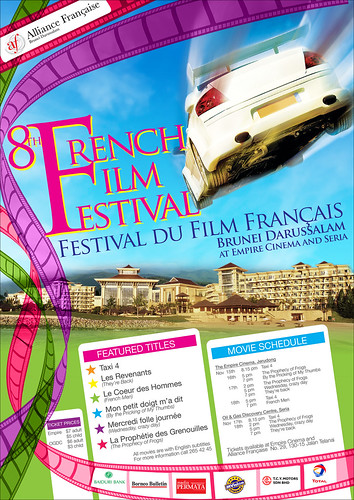 8th French Film Festival by you.