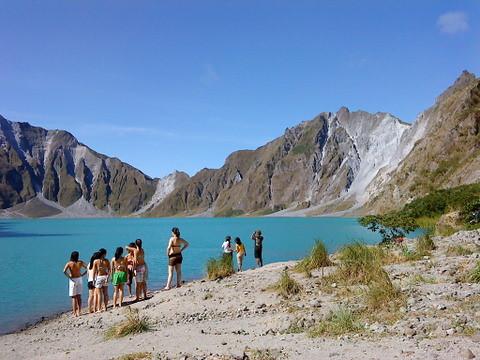 Mt Pinatubo Volcano