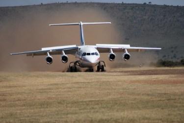 Aterrizaje ABJ sin asfalto