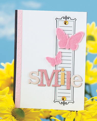 Teris Smile Card was featured in our March/April 2009 issue.