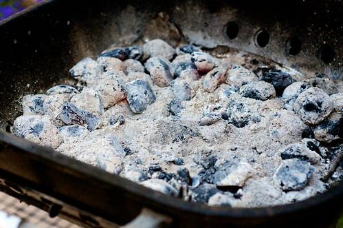 Step Five: Prep the coals