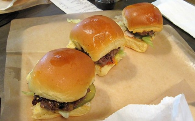 grindhouse killer burgers - le trio de sliders by you.