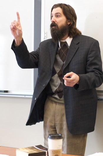 Dr. Jackson, Professor of English, Hillsdale College