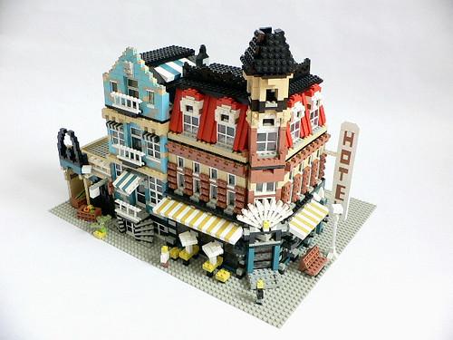 Modulex Cafe Corner and Market Street