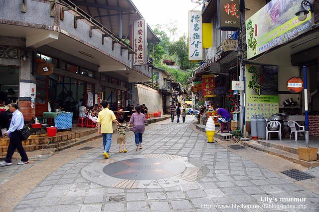 我們吃的就是左邊那家「清安豆腐店」。