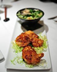 Ginger Glazed Rock Hen & Udon Miso Bowl
