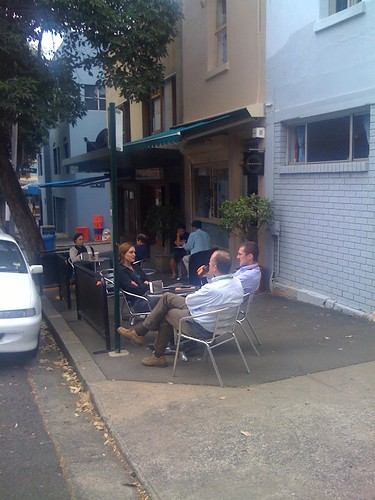 Quarry St Cafe, Ultimo