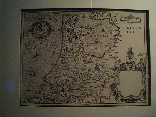 16th Century map of Holland