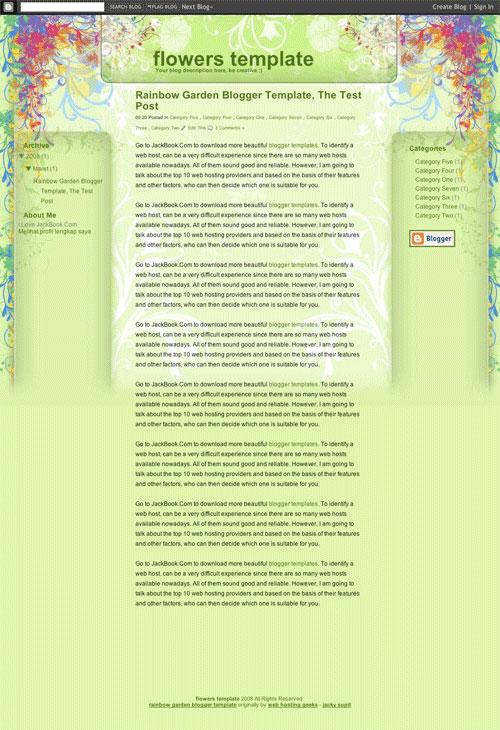 3293015610 fd23a2d247 o 50 (Most) Beautiful Blogger Templates blogger এর জন্য আরো ২৫টি জটিল টেম্পলেট [ডেমো সহ]