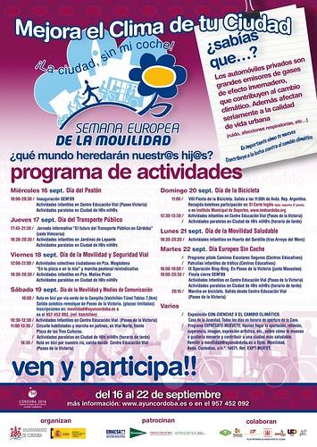 Semana Europea de la Movilidad 2009 en Córdoba.