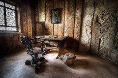 Martin Luther's room in Wartburg Castle