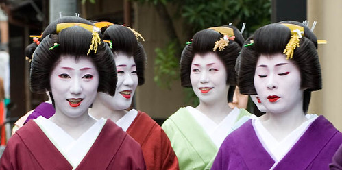 Maikos in Gion 2
