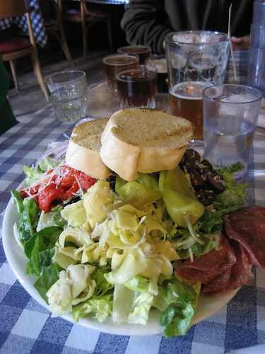 We expected to find good beer at the beer shrine, but the salad knocked us out as well!