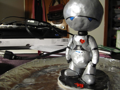 Marvin the Paranoid Android loses his heart
