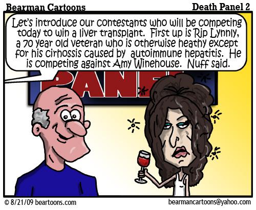 8 21 09 Bearman Cartoon DeathPanel2 copy