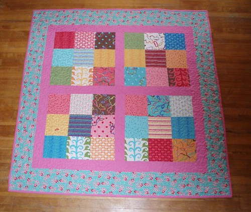 Picnic Quilt All Quilted by Van Os