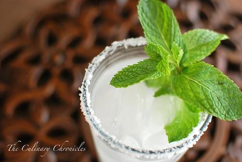 Mint Margaritas
