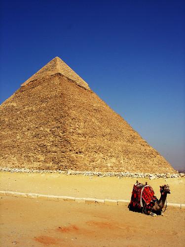 pyramid + camela