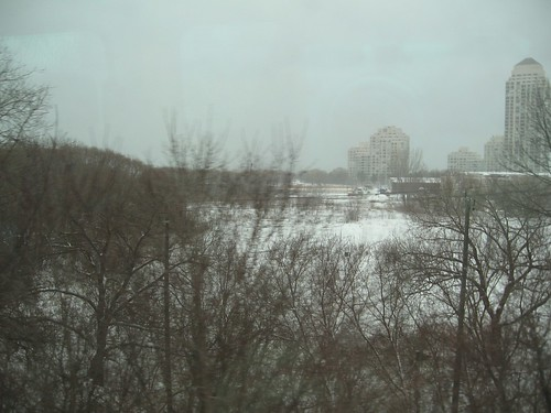 View from the Go Train