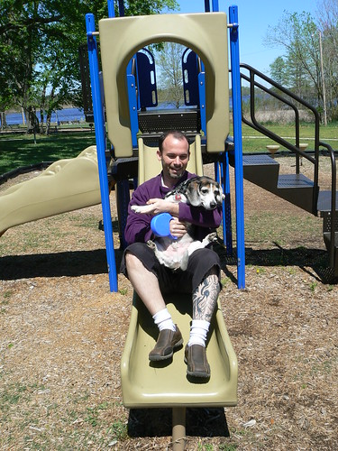 Missing Mill Park - Henry's Slide - 3. Slide!