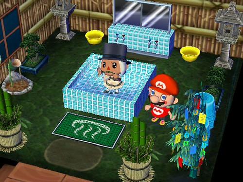 Zelda in the Spa