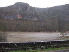 Flooding Cele River, France