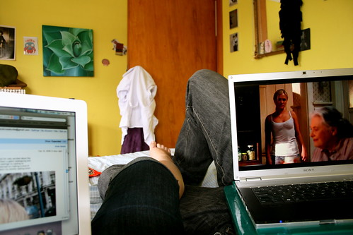 Sunday: Relaxing with Laptops
