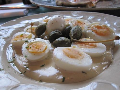 Quail Eggs - Shoreditch House