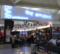 The Windmill Bar at Stansted Airport