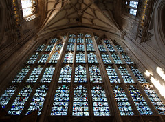 The 14th Century West Window - rebuilt in 1660