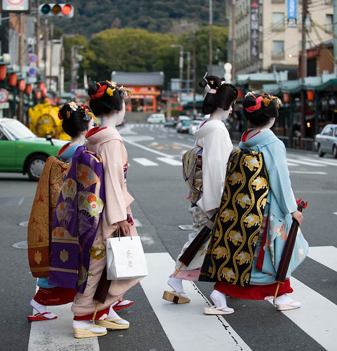 Abbey Road in Gion