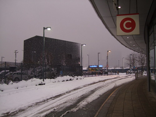 North Greenwich bus station