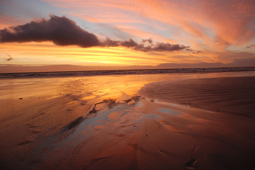 Strand Sunset by Caroline Hartley.