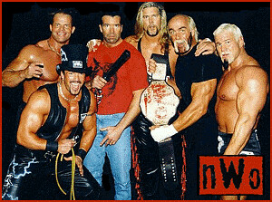 WCW nWo Wolfpac elite Hogan Nash Hall