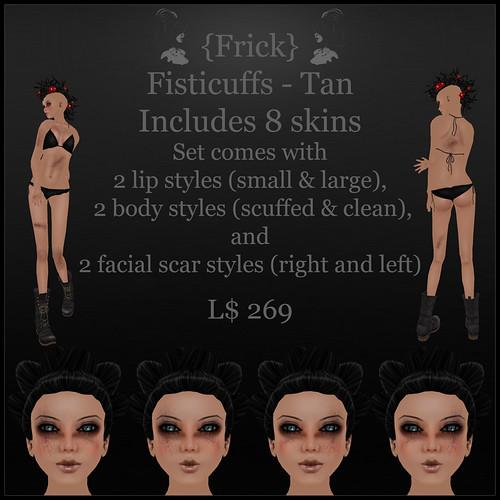 fisticuffs - tan - ad
