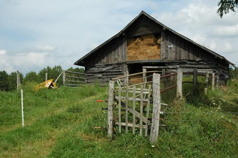 Barn at Stanley homeplace