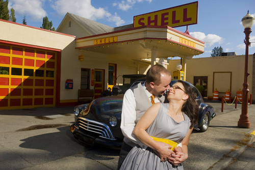 Photo Credit: Amore Studios  Location: Old Shell Station Issaquah WA