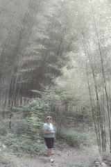 Angela in the Bamboo