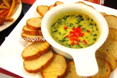 Blossoming Spinach Dip
