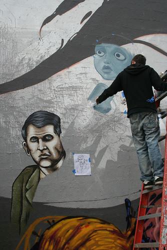 la mural work