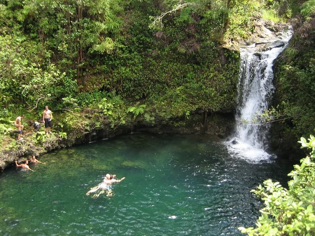 Near Pua'a Ka'a State Park, Maui: Swimming Hole