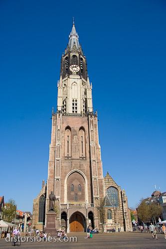 Nieuwe Kerk en Delft