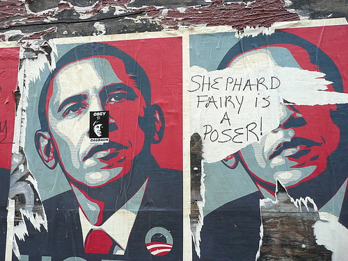 Shepard Fairey is a poser