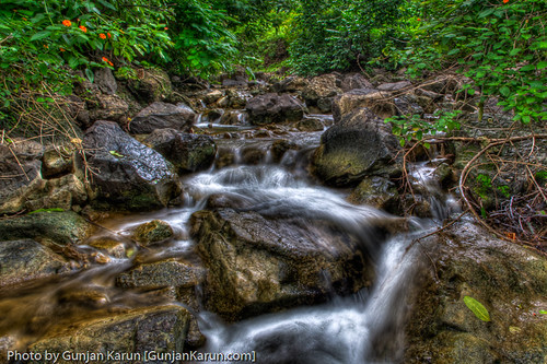 El agua que fluye
