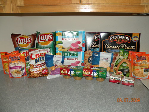 All of this for $18.59!  I saved $42.75 today!  Woo Hoo!