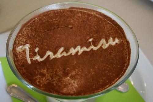 Tiramisu at Unit 8 Cafe