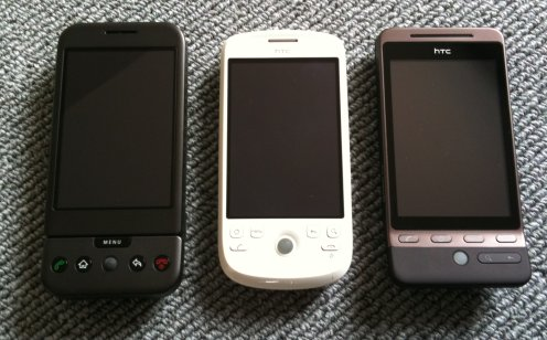 HTC saboterar Android – G1, Magic och nu Hero.