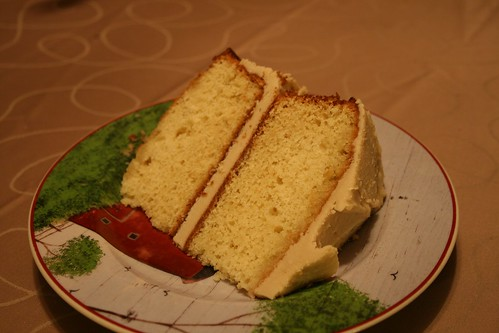 A slice of birthday cake