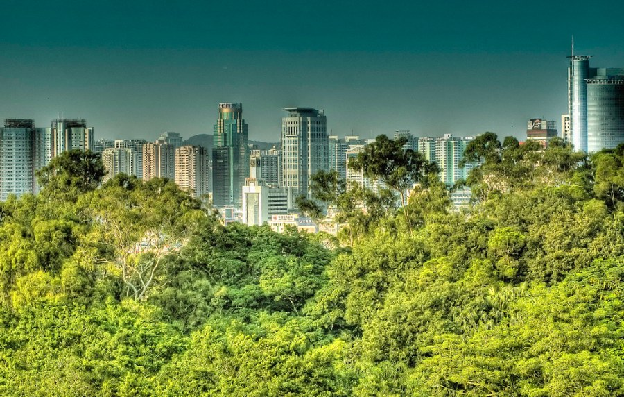Xiamen City & Gulangyu Island.